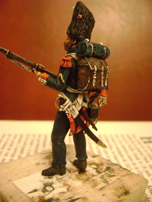 la vielle garde à waterloo Grenadier5